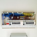 Consumer unit at Old Coal Wharf Apartments